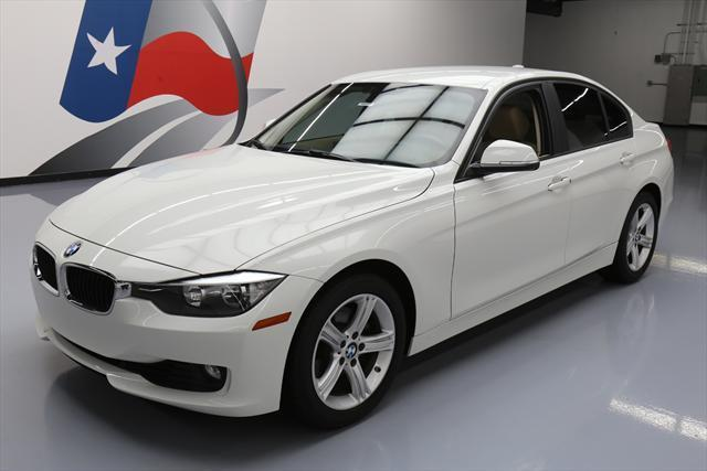 2013 BMW 3-Series (White/Tan)