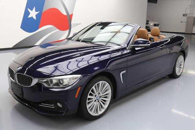 2015 BMW 4-Series (Blue/Brown)