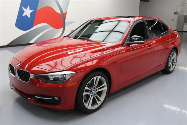 2014 BMW 3-Series (Red/Black)