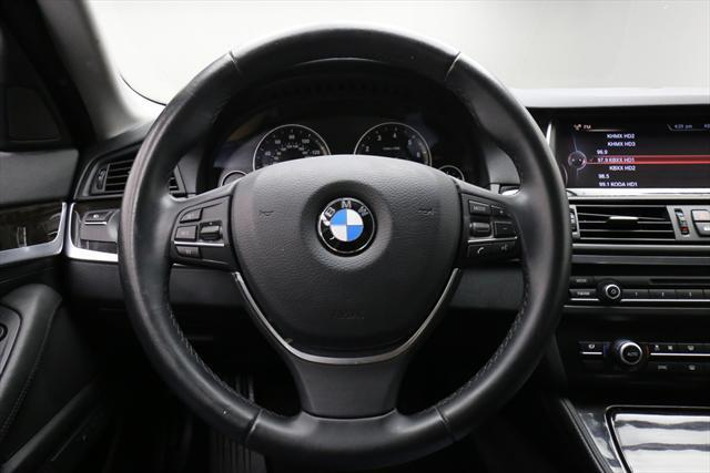 2015 BMW 5-Series (Black/Black)