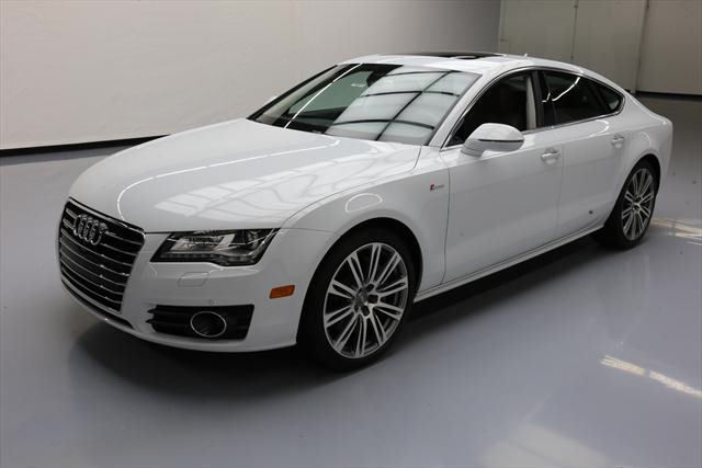 2014 Audi A7 (White/Brown)