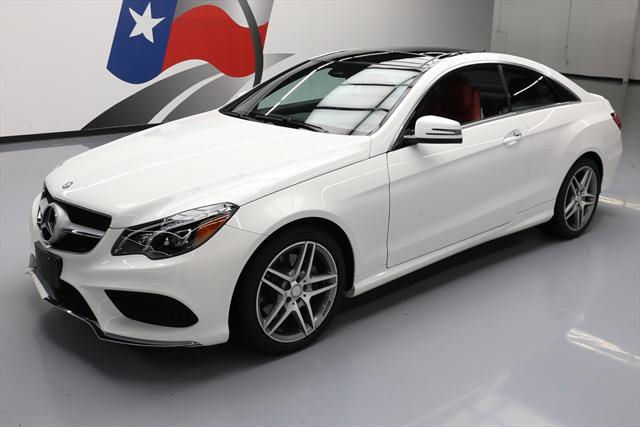 2016 Mercedes-Benz E-Class (White/Red)