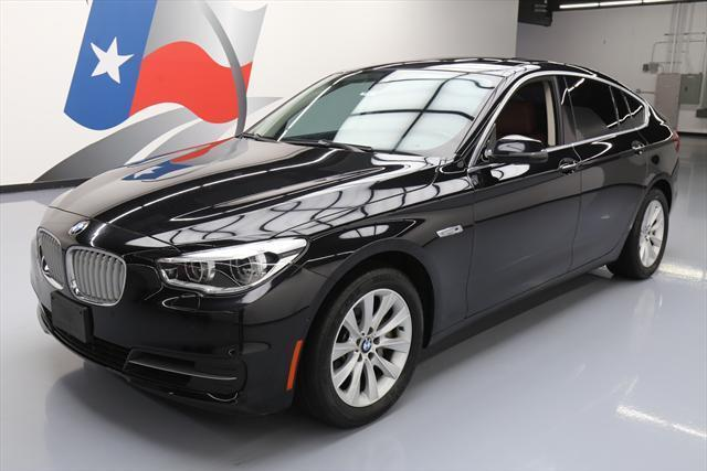 2014 BMW 5-Series (Black/Brown)