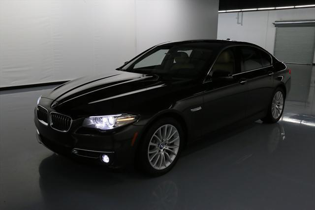 2014 BMW 5-Series (Brown/Tan)