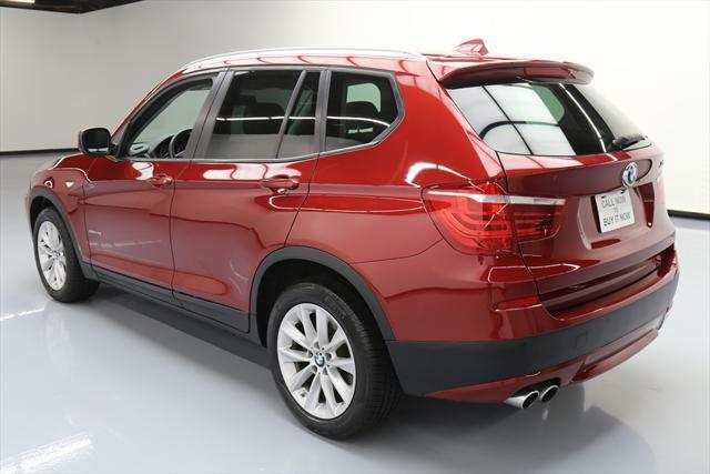 2014 BMW X3 (Red/Brown)