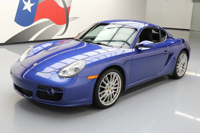 2008 Porsche Cayman (Blue/Black)