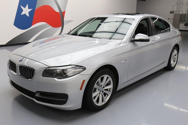 2014 BMW 5-Series (Silver/Black)