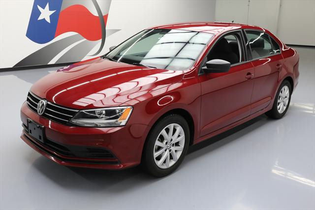 2016 Volkswagen Jetta (Red/Black)