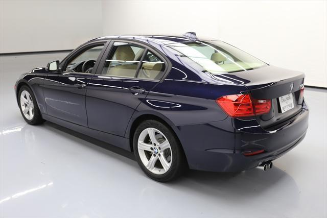 2014 BMW 3-Series (Blue/Tan)