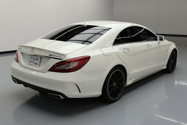 2015 Mercedes-Benz CLS-Class (White/Red)