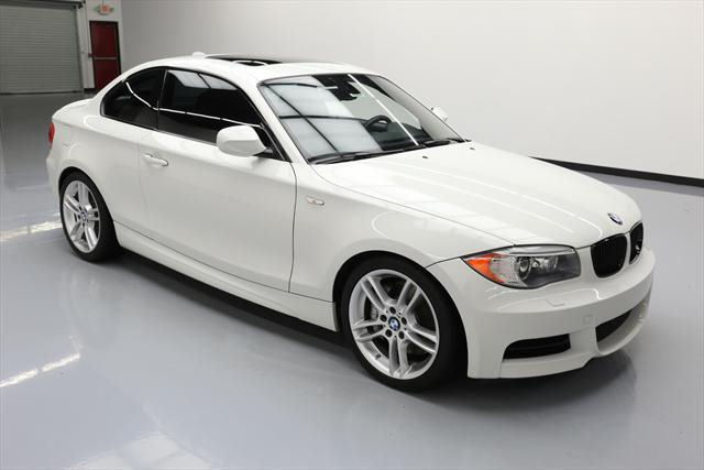 2012 BMW 1-Series (White/Black)
