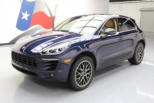 2015 Porsche Macan (Blue/Brown)