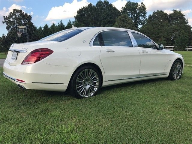 2016 Mercedes-Benz S600 (White/Tan)