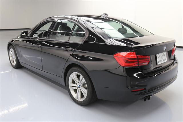 2016 BMW 3-Series (Black/Black)