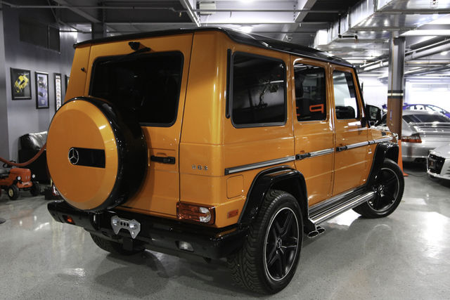 2016 Mercedes-Benz G-Class (ORANGE/BLACK)