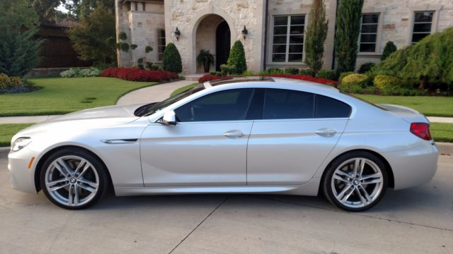 2013 BMW 6-Series (Silver/Red)