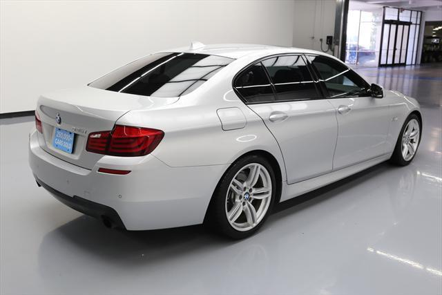 2013 BMW 5-Series (Silver/Black)