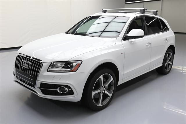 2016 Audi Q5 (White/Brown)