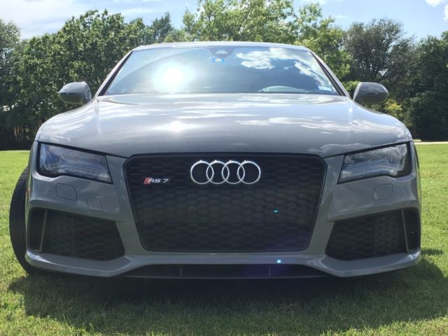 2015 Audi RS7 (Nardo Grey/Black)