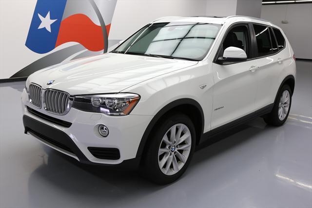 2015 BMW X3 (White/Black)