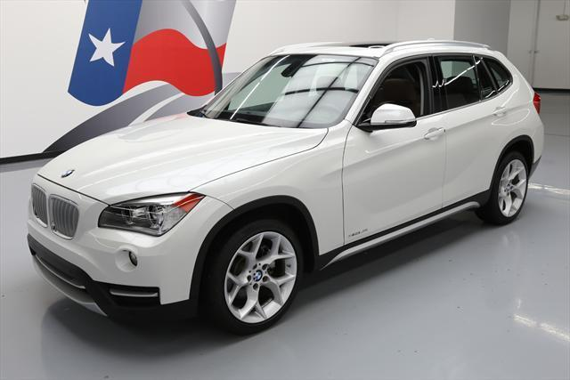 2014 BMW X1 (White/Brown)