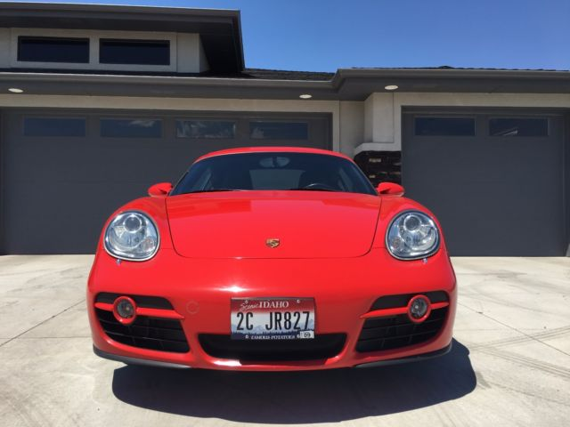 2007 Porsche Cayman (Guards Red/Black)