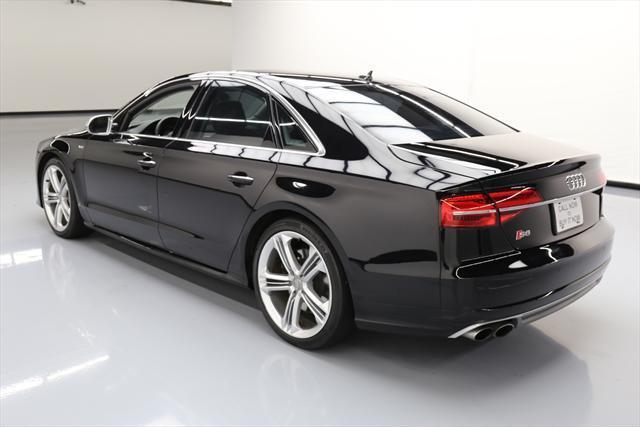 2015 Audi S8 (Black/Brown)