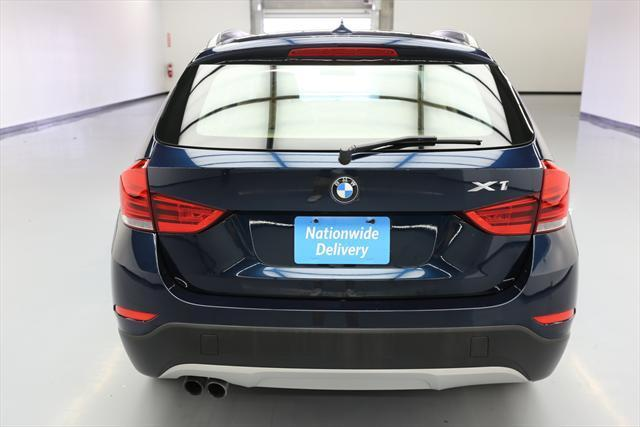 2014 BMW X1 (Blue/Tan)