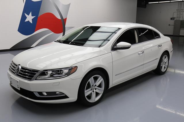 2014 Volkswagen CC (White/Black)