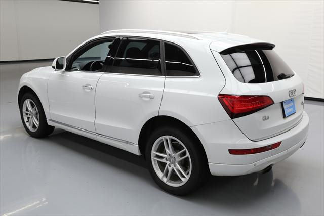 2015 Audi Q5 (White/Brown)