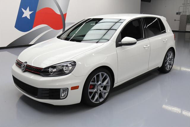 2013 Volkswagen Golf (White/Gray)