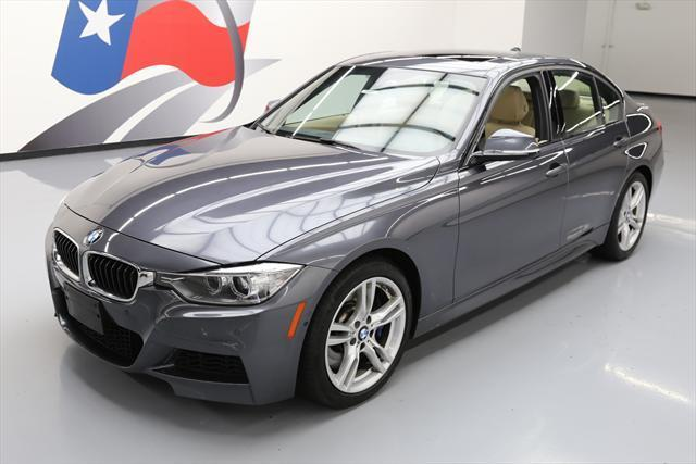 2014 BMW 3-Series (Gray/Tan)