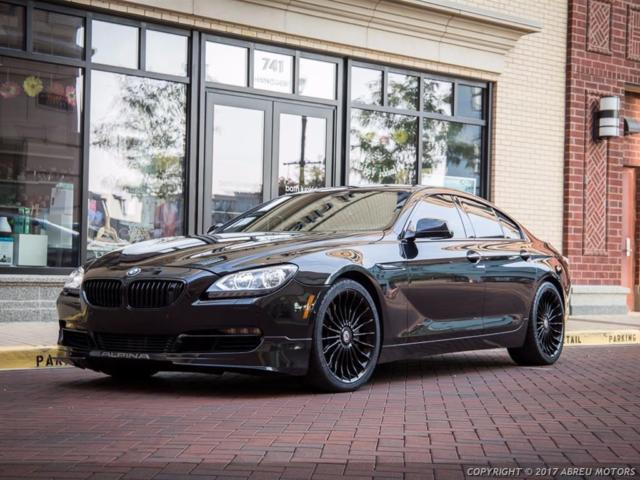 2015 BMW 6-Series (Black/Black)