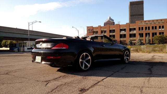 2009 BMW 6-Series (Black/Black)