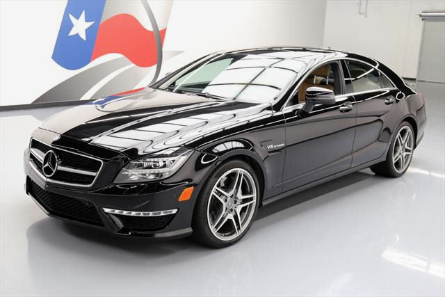 2013 Mercedes-Benz CLS-Class (Black/Brown)