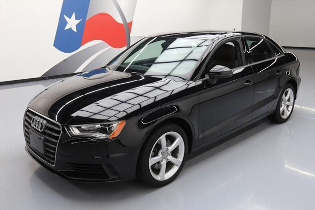 2015 Audi A3 (Black/Brown)