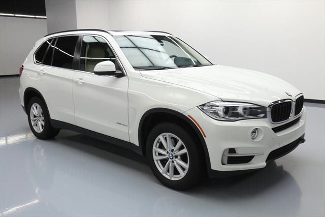 2015 BMW X5 (White/Tan)