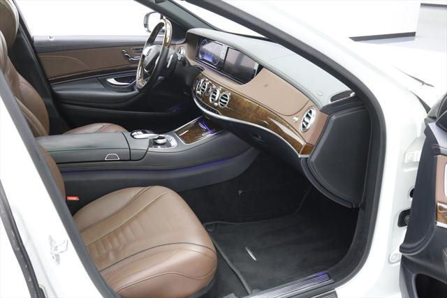 2015 Mercedes-Benz S-Class (White/Brown)