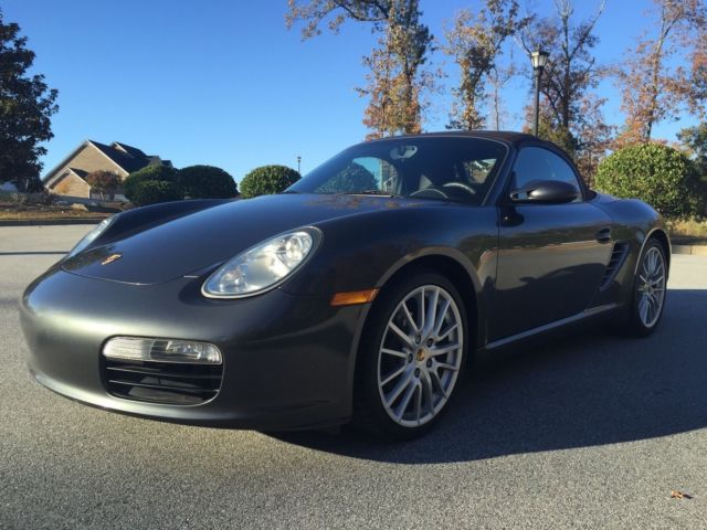 2008 Porsche Boxster (Gray/Brown)