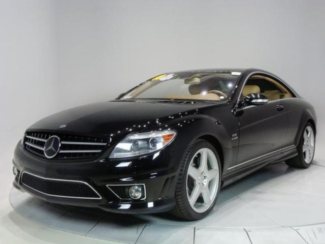 2008 Mercedes-Benz CL-Class (Black/Cashmere/Savannah)