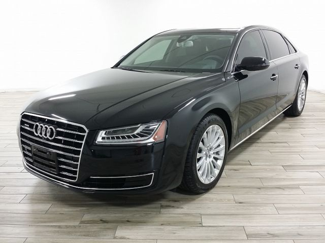 2016 Audi A8 (Daytona Gray/Black)