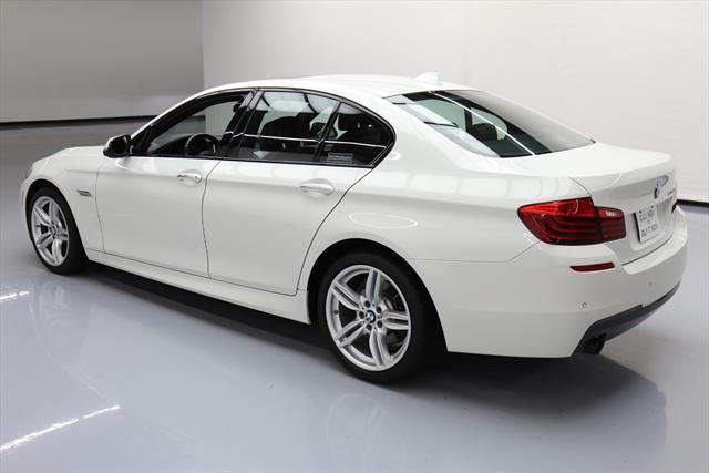 2014 BMW 5-Series (White/Brown)