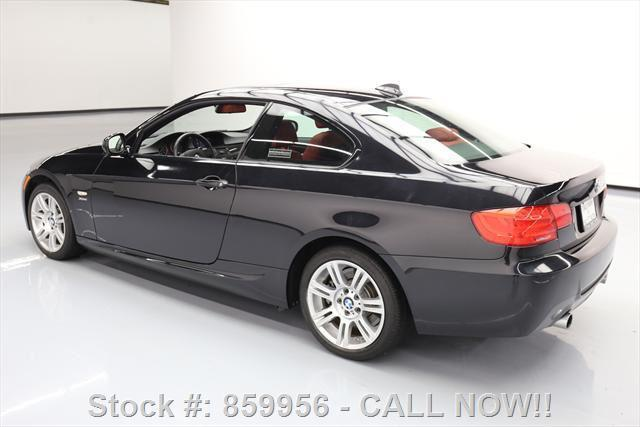 2013 BMW 3-Series (Black/Red)