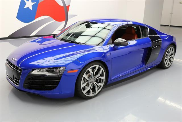 2012 Audi R8 (Blue/Brown)