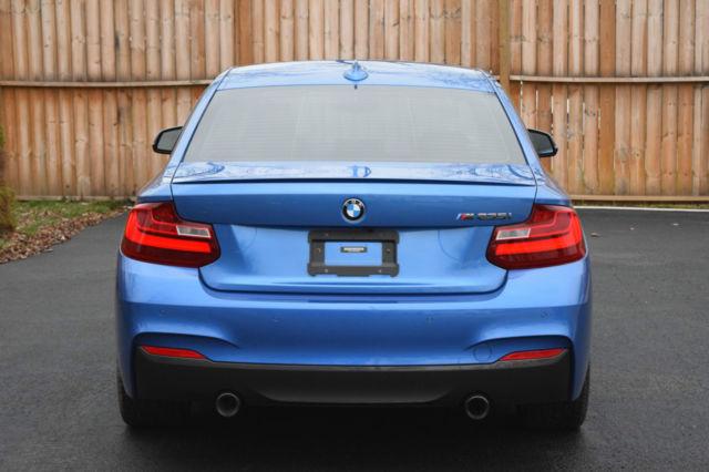 2016 BMW 2 Series Blue Black