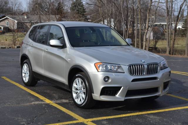 2013 BMW X3 (White/Tan)