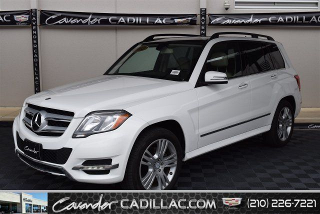 2014 Mercedes-Benz GLK-350 (White/Tan)