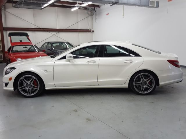 2012 Mercedes-Benz CLS-Class (Diamond White/Black Nappa)