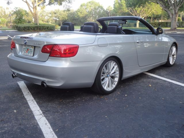 2011 BMW 3-Series (Silver/Black)