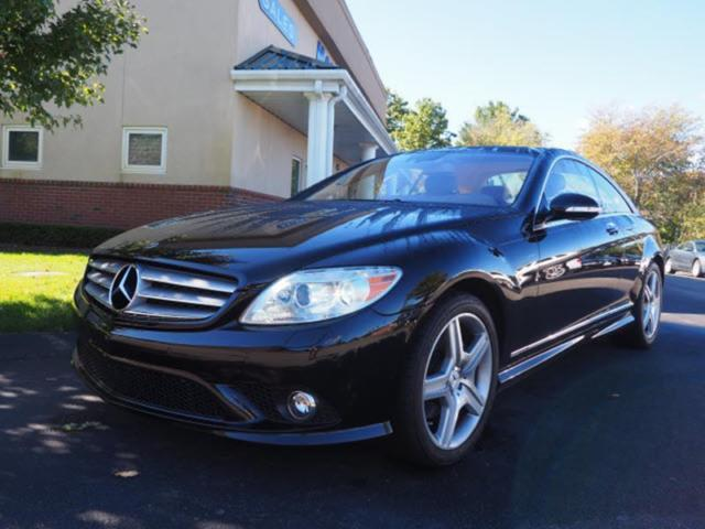 2008 Mercedes-Benz CL-Class (Black/Cashmere/Savanna)